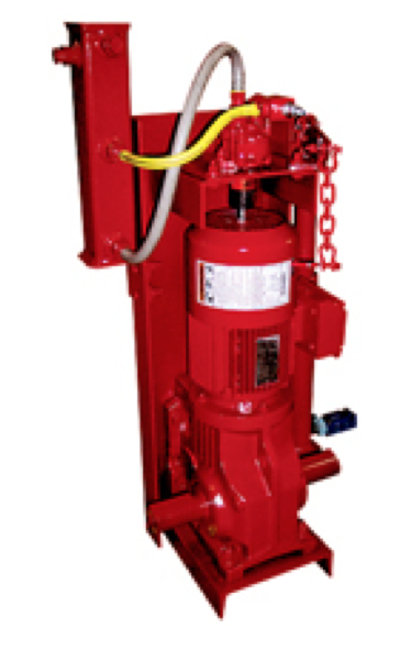 Fire Curtain Line Shaft Hoist
